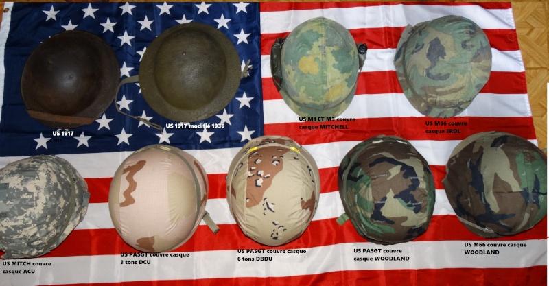 LES CASQUES DE L'US ARMY ET LEURS CAMOUFLAGES Dsc05910
