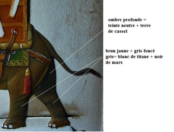 Elephant de guerre carthaginois  - plat 30mm 4_copi11