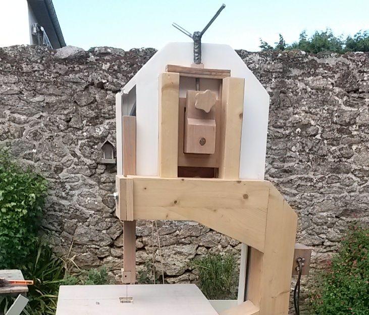 [Fabrication] Scie à ruban en bois - Page 12 Cap10