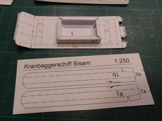 """Baggerschiff """"Bisam"""", HS-DESIGN, 1:250 Dsc09810"""