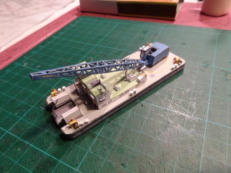 """Baggerschiff """"Bisam"""", HS-DESIGN, 1:250 Dsc09829"""