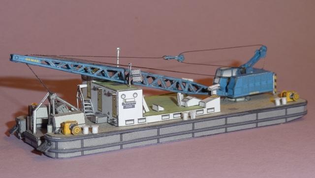 """Baggerschiff """"Bisam"""", HS-DESIGN, 1:250 Dsc09830"""