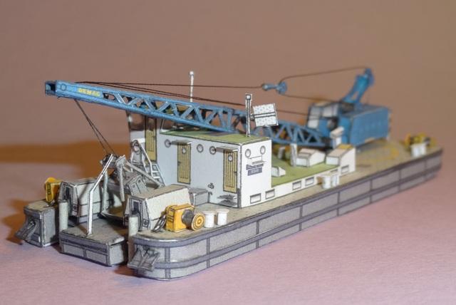"""Baggerschiff """"Bisam"""", HS-DESIGN, 1:250 Dsc09831"""