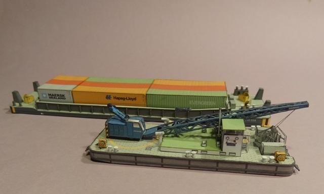 """Baggerschiff """"Bisam"""", HS-DESIGN, 1:250 Dsc09836"""