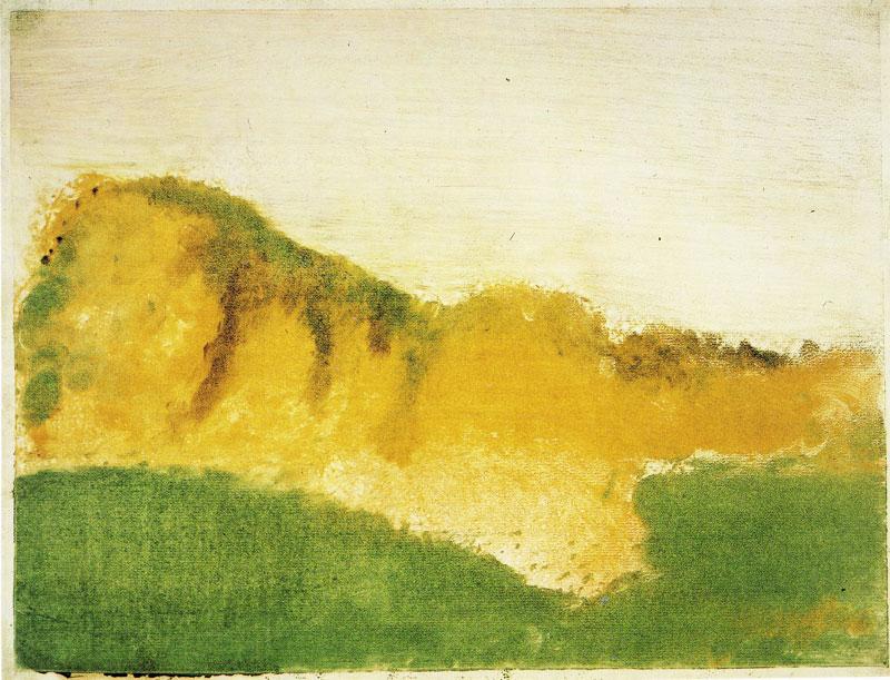 Images solubles dans la peinture. Degas_10