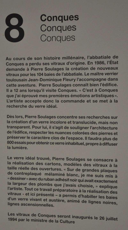 Aveyronnaise 2: Soulages, le musée de Rodez et les vitraux de Conques - Page 3 Dsc_0915