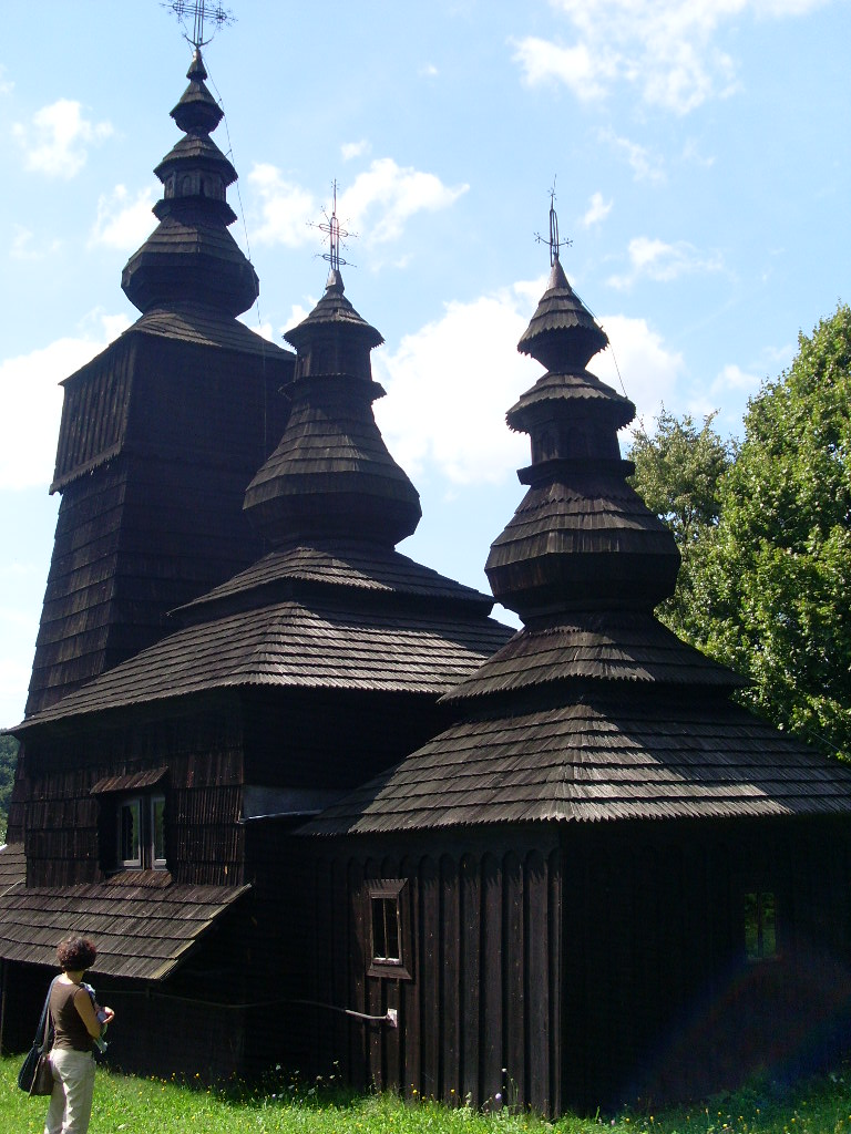 """Norvège : Les """"stavkirke"""", églises en """"bois debout"""", et secondairement bien d'autres aspects de ce magnifique pays et de sa culture... Sl374510"""