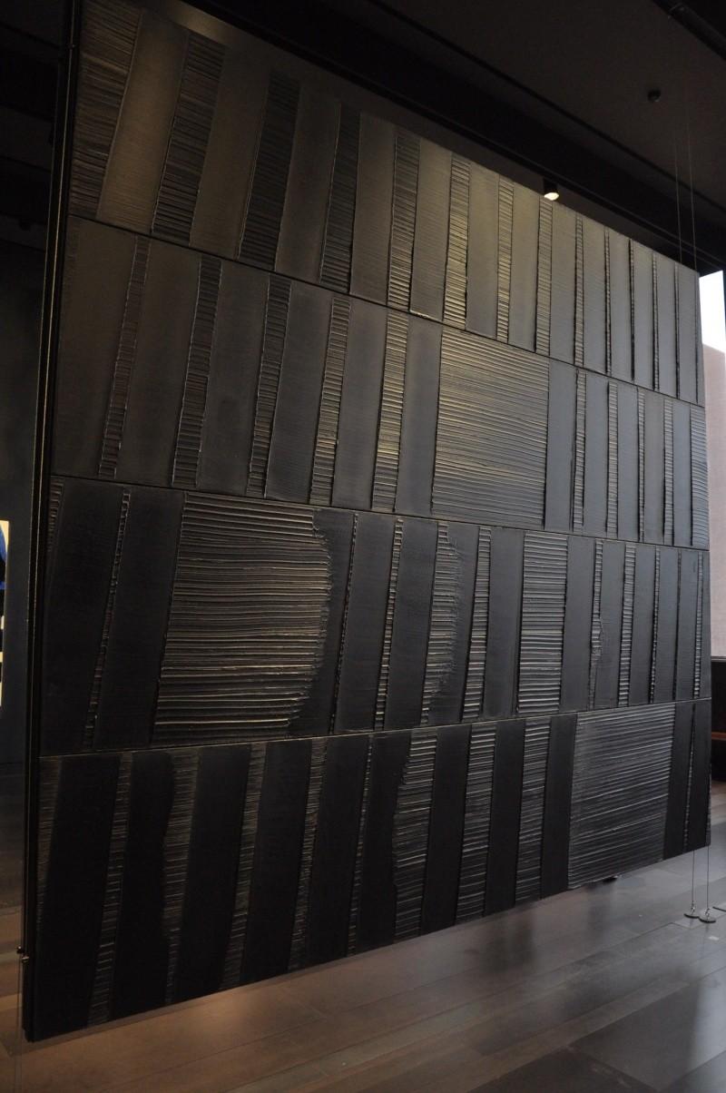 Aveyronnaise 2: Soulages, le musée de Rodez et les vitraux de Conques Soulag45