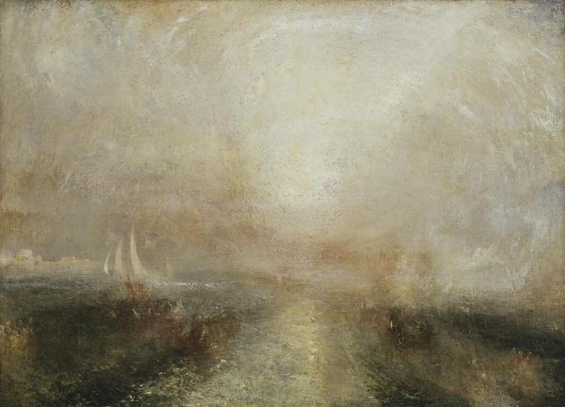 Images solubles dans la peinture. Turner11