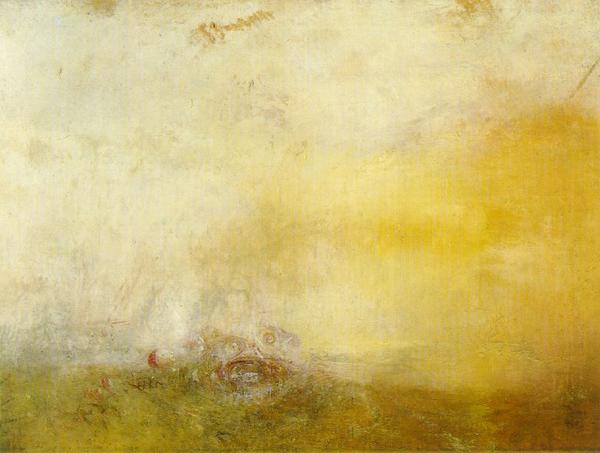Images solubles dans la peinture. Turner12