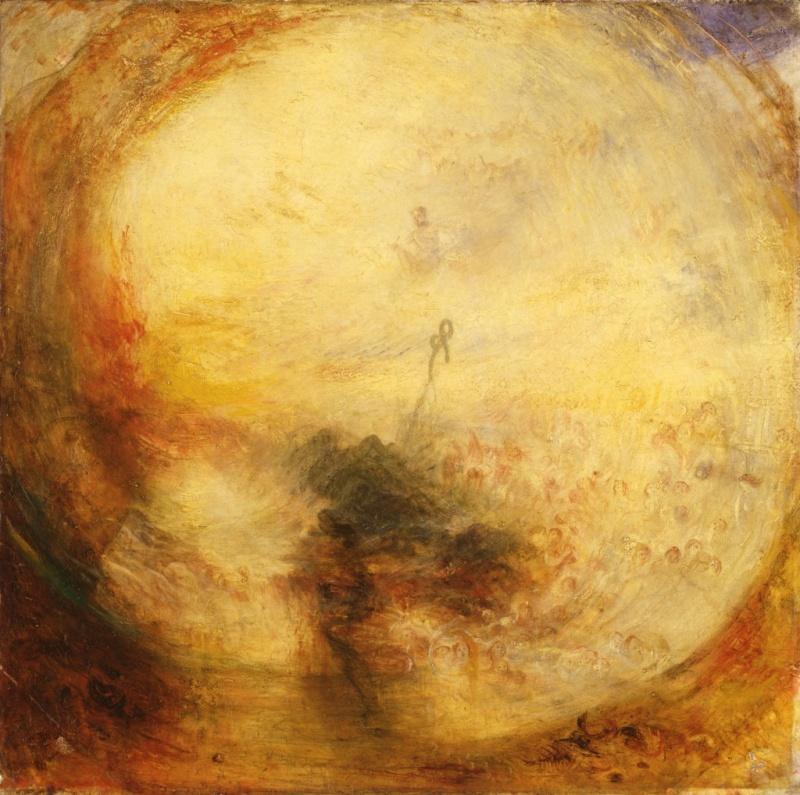 Images solubles dans la peinture. Turner13