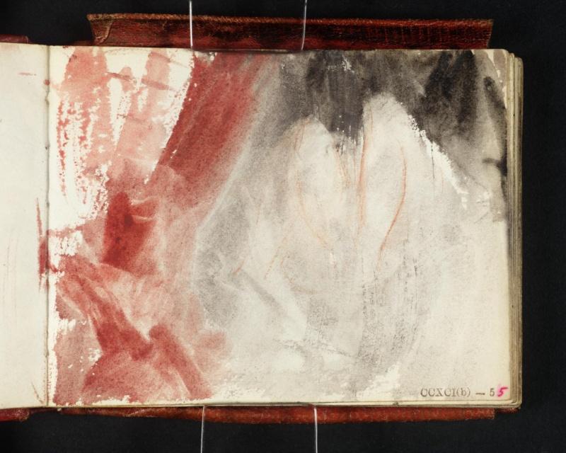 Images solubles dans la peinture. Turner14