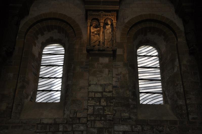 Aveyronnaise 2: Soulages, le musée de Rodez et les vitraux de Conques - Page 3 Vitrau11