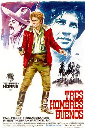 Trois cavaliers noirs . Tres Hombres Buenos . 1963. J.L. Romero Marchent. 00002410
