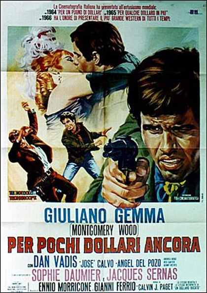 3 cavaliers pour Fort Yuma . Per Pochi Dollari Ancora . 1966 . Giorgio Ferroni. 10492_10