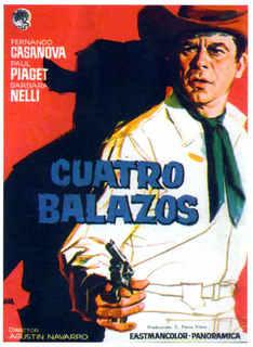 4 balles pour Joe . Cuatro balazos . 1964 . Agustin Navarro  14ah2j10