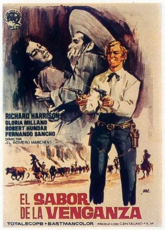 Les 3 implacables ( El sabor de la venganza ) –1963- Joaquim ROMERO MARCHENT 17m3j110