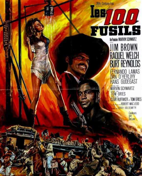 Les cent fusils . 100 Rifles . 1968 . Tom Gries . 20692810