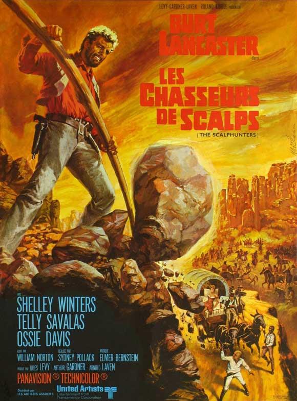 Les chasseurs de scalps . The Scalphunters . 1968 . Sydney Pollack . 45252210
