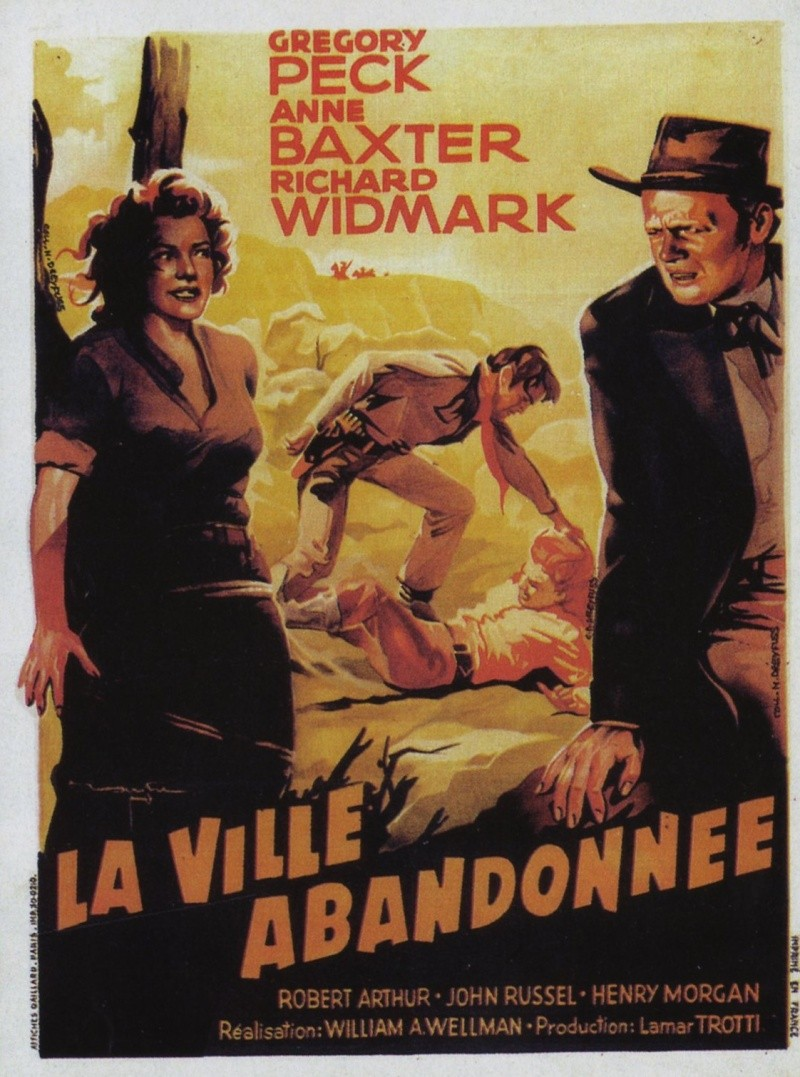 La Ville abandonnée - Nevada - Yellow Sky - 1948 - William Wellman 4827610