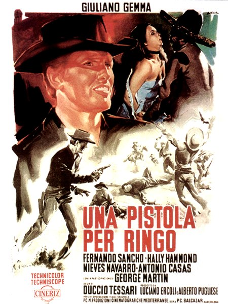 Un pistolet pour Ringo - Una Pistola per Ringo - 1965 - Duccio Tessari Affich11