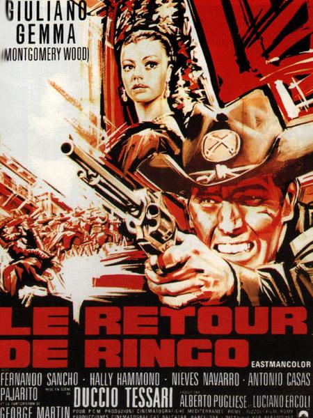 Le retour de Ringo - Il ritorno di Ringo - 1965 - Duccio Tessari Affich12