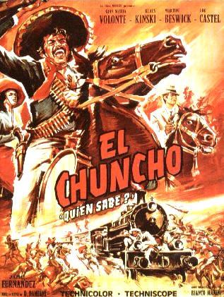 El Chuncho (El Chuncho, Quién Sabe?) - 1967 - Damiano Damiani Affich14