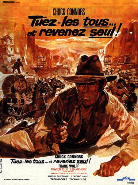 Tuez-les tous... et revenez seul ! - Ammazzali Tutti e torna Solo - 1968 - Enzo G. Castellari Affich15