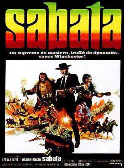Sabata - Ehi amico... c'è Sabata, hai chiuso! - 1969 - Frank Kramer ( Gianfranco Parolini ) Affich16
