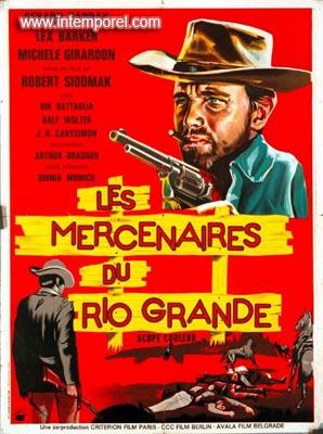Les mercenaires du Rio Grande ( I Violenti di Rio Bravo ) –1965- Robert SIODMAK En125110