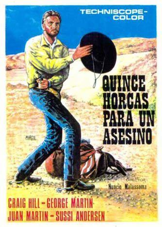 Quinze potences pour un salopard -  Quindici forche per un assassino - 1967 - Nunzio Malasomma En133410