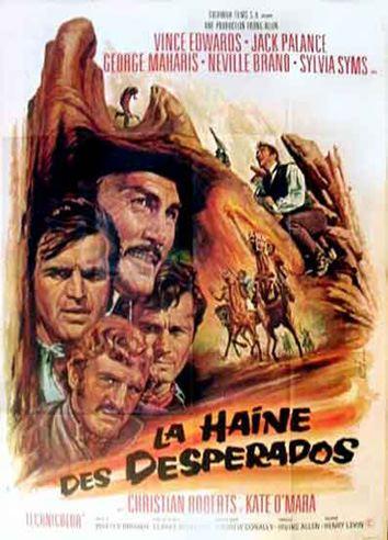 La Haine des Desperados - The Desperados - 1969 - Henry Levin En136110