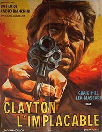 Clayton l'implacable - Lo voglio morto - Paolo Bianchini - 1968 En138210