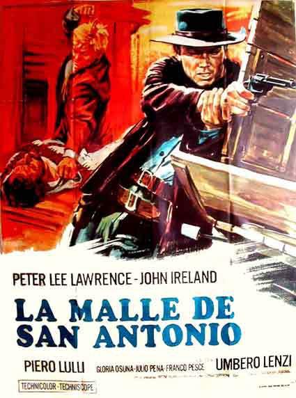 Pistolets pour un massacre - La malle de San Antonio - Una pistola per cento bare  - 1968 - Umberto Lenzi En140318