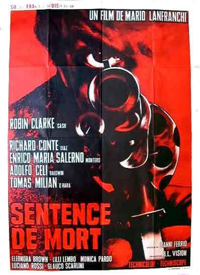 Sentence de mort - Sentenza di Morte -  1967 - Mario Lanfranchi En142610