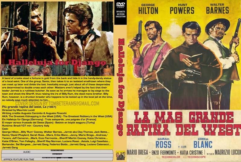 Trois salopards, une poignée d'or ( La piu grande rapina del west ) –1967- Maurizio LUCIDI Hallel10