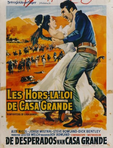 Les hors-la-loi de Casa Grande . Gunfighters of Casa Grande . 1964 . Roy Rowland. Image010
