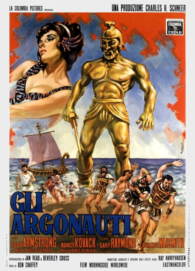 Jason et les Argonautes. Jason and the Argonauts.1963. Don Chaffey. Jason_10