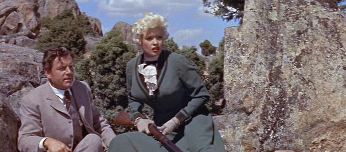 La blonde et le Shérif -The Sheriff of Fractured Jaws-, Raoul Walsh, 1958. La20bl13