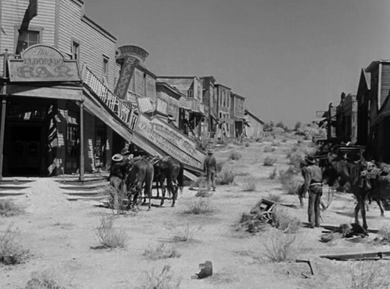 La Ville abandonnée - Nevada - Yellow Sky - 1948 - William Wellman La_vil10