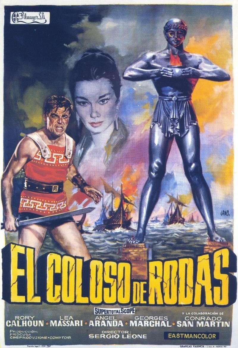 LE COLOSSE DE RHODES, SERGIO LEONE, 1960.  Le_col10