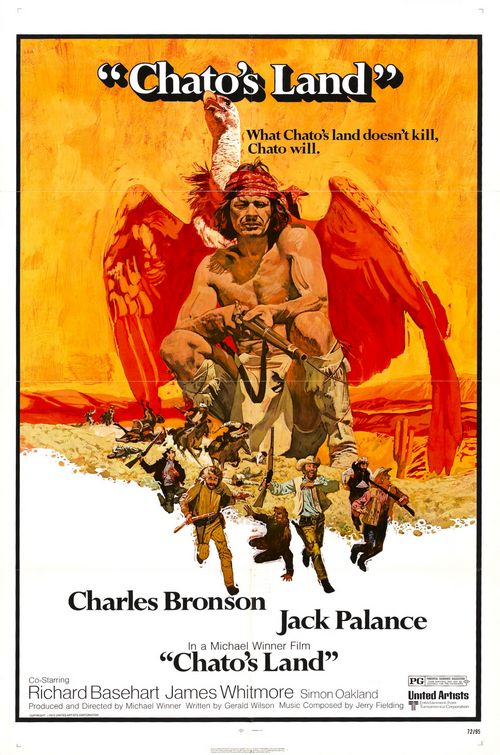 Les collines de la terreur . Chato's Land . 1971 . Michael Winner Les_co10