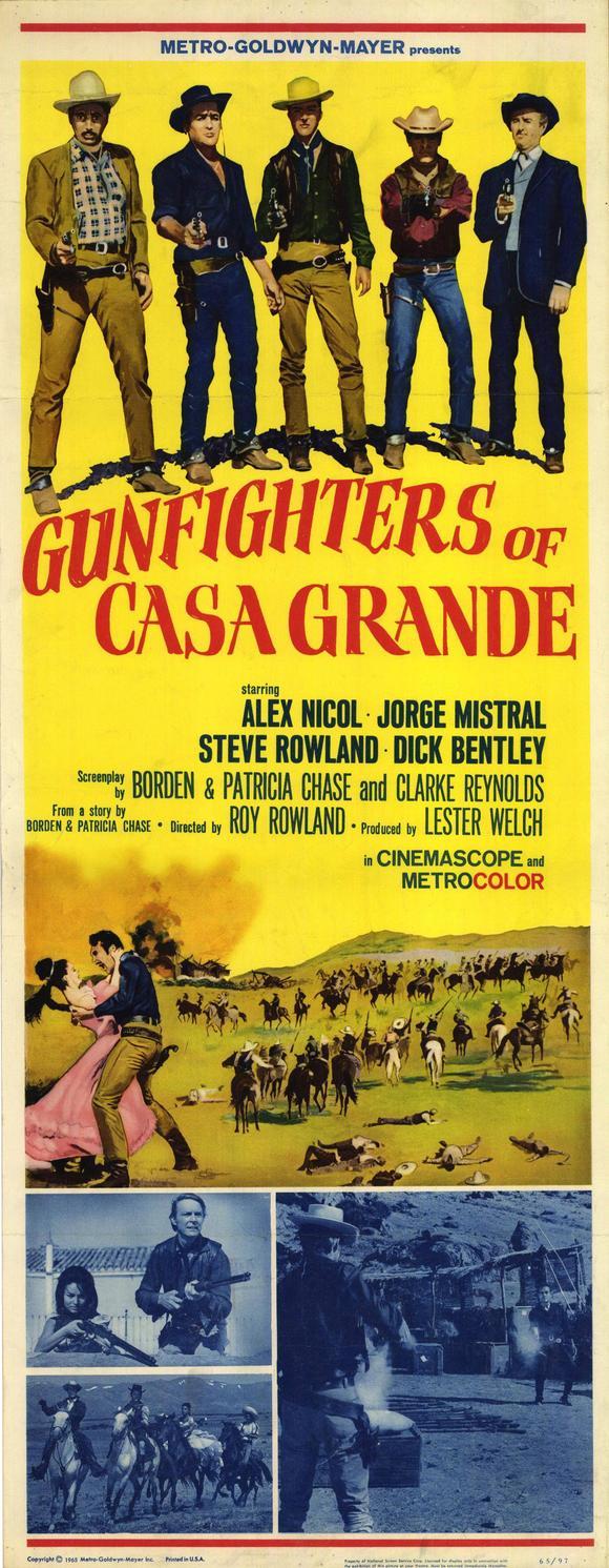 Les hors-la-loi de Casa Grande . Gunfighters of Casa Grande . 1964 . Roy Rowland. Leshor10