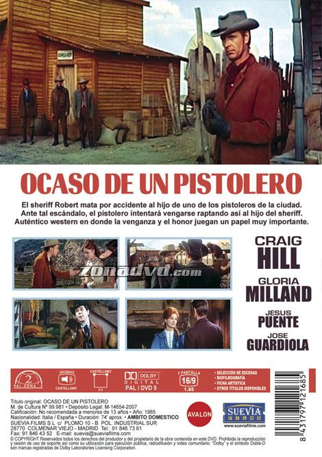 Dans les Mains du Pistolero - Ocaso de un Pistolero - Rafael Romero Marchent - 1965 Ocasod10