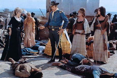 Le triomphe des 7 desperadas - Las siete magníficas - 1966 - Sidney W. Pink , Gian Franco Parolini ... Scene13