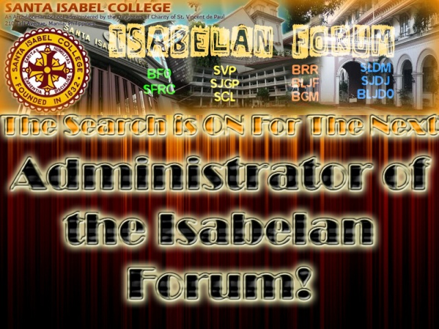 The Search is ON For The Next Isabelan Forum ADMINISTRATOR! Logo13