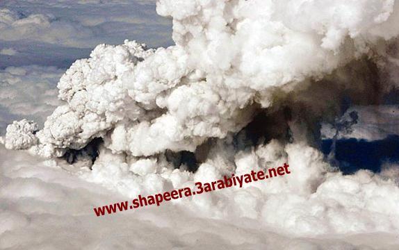 صور ثوران وسحاب بركان ايسلندا 131