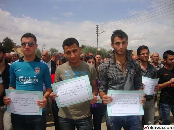 مسيرة حاشدة في كرمليس أحتجاجاً على أستهداف طلبة بغديدا 135