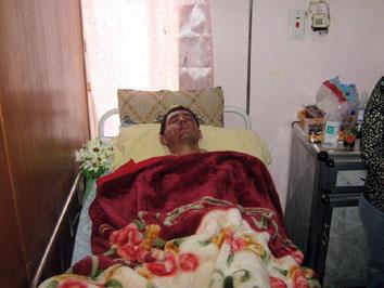 الحركة الديمقراطية الأشورية تزور الجرحى من الطلبة الذين استهدفوا في بخديدا 333
