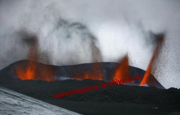 صور ثوران وسحاب بركان ايسلندا 421